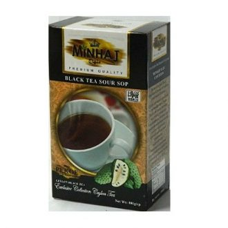Minhaj Sour Sop Black Tea Саусеп