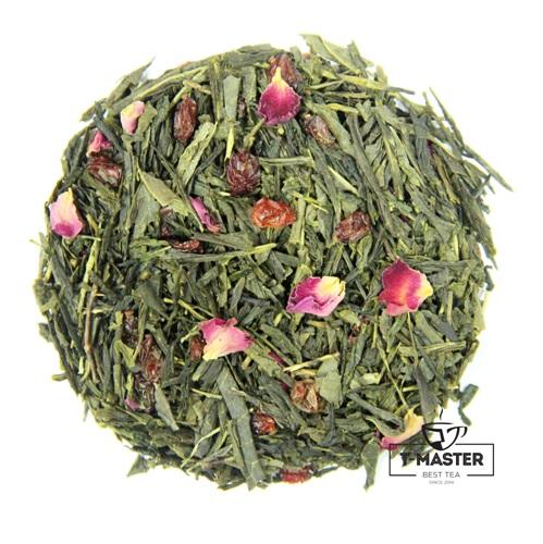 Чай T-MASTER зеленый с барбарисом, 100 г