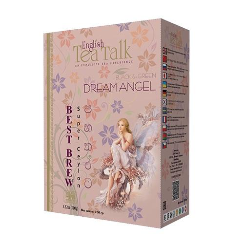 Чай English TeaTalk Dream Angel Pekoe + GP1 Клубника, ваниль, цейлонский, 100 г