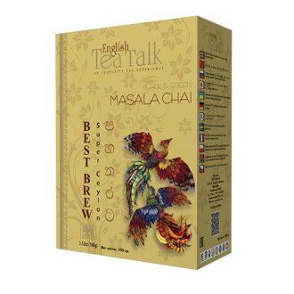 Чай English TeaTalk Masala Chai Pekoe + GP1 Масала, цейлонский, 100 г