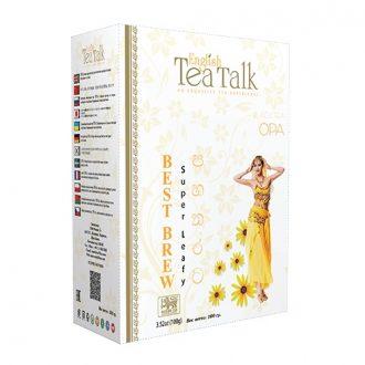 Чай English TeaTalk Super OPA Супер ОПА, цейлонский, 100 г