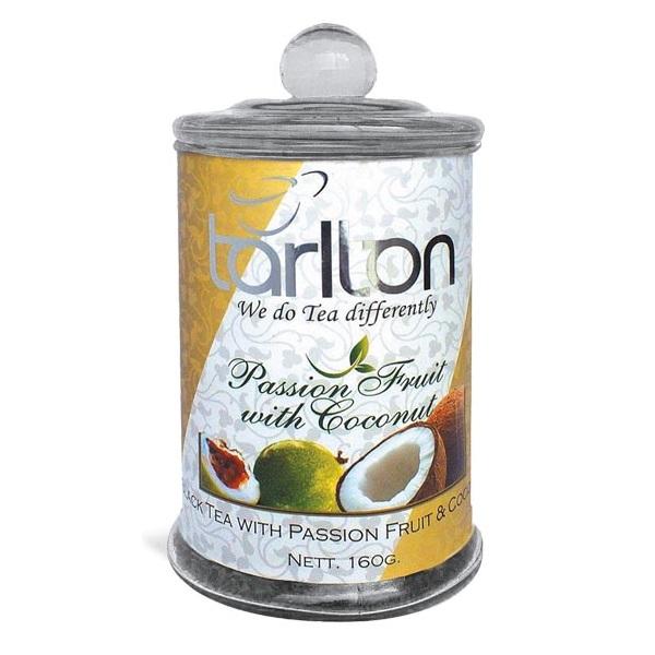 Чай Tarlton Passion Fruit with Coconut Плод Страсти, цейлонский, 160 г
