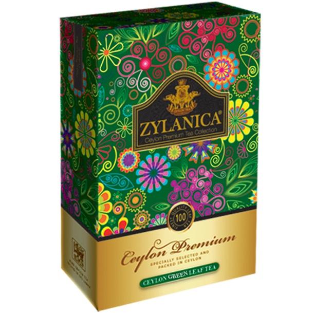 Чай Zylanica Forest Berries Green GP1 Лесные ягоды, цейлонский, 100 г