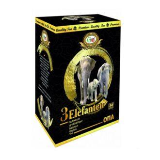 Чай Gred 3 Elephant OPA (3 слона), цейлонский, 100 г