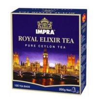 Чай Impra Royal Elixir Tea (Королевский эликсир Классический), цейлонский, пакетированный, 100х2 г, 200 г