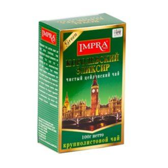 Чай Impra Royal Elixir Pure Ceylon Green Tea (Королевский эликсир Зеленый), цейлонский, 100 г