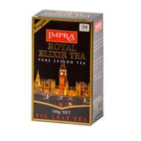 Чай Impra Royal Elixir Knight Pure Ceylon Tea (Королевский эликсир Рыцарь), цейлонский, 100 г