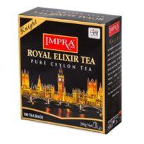Чай Impra Royal Elixir Knight Tea (Королевский эликсир Рыцарь), цейлонский, пакетированный, 100х2 г, 200 г