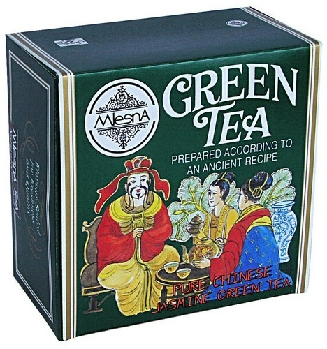 Чай Mlesna Jasmine Green Tea Жасмин