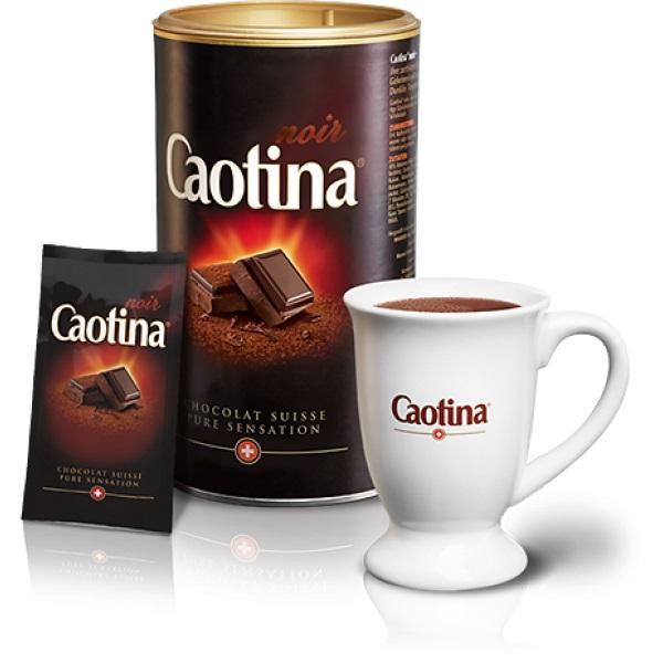 Шоколадный напиток Caotina Noir Каотина Черный шоколад