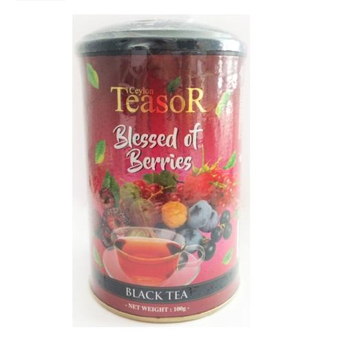 Чай Teasor Blessed of Berries Лесные ягоды, крупнолистой, цейлонский 100 г