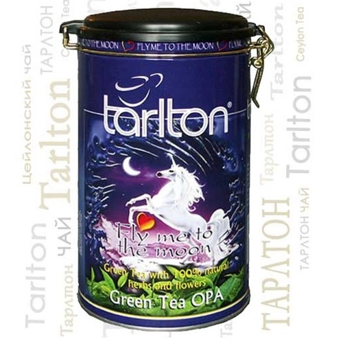 Чай Tarlton Fly me to the moon Лунный полет, крупнолистовой, цейлонский, 300 г