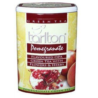 Чай Tarlton Pomegranate Гранат, крупнолистовой, цейлонский, 200 г