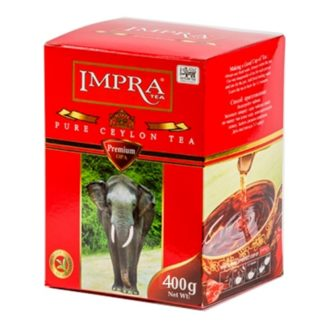Чай Impra OPA Premium Pure Ceylon Black Tea Red (ОПА премиум), цейлонский, 400 г