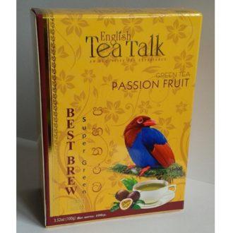 Чай English TeaTalk Passion Fruit Плод Страсти, маракуйя, цейлонский, 100 г