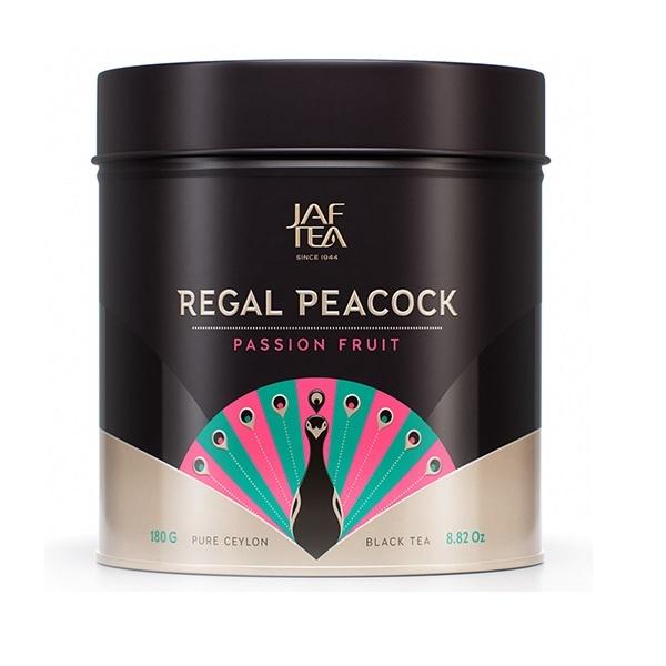Чай JAF Regal Peacock Passion Fruit ОРА Пэшн Фрут, коллекция Королевский павлин, цейлонский, 180 г