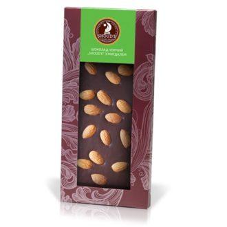 Шоколад SHOUD'E Dark chocolate with Almonds Черный с миндалем