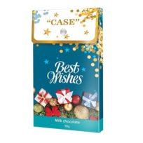 Шоколад SHOUD'E Сase, best wishes C наилучшими пожеланиями