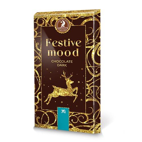 Шоколад SHOUD'E Festive mood dark Праздничное настроение