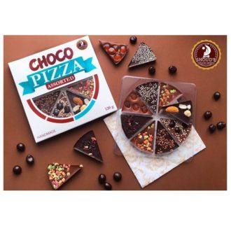 Шоколад SHOUD'E Chocopizza Шоколад-пицца, молочный, черный