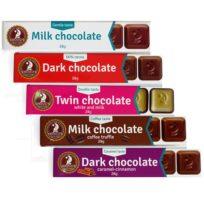 Шоколад SHOUD'E коллекция, черный, молочный, Украина, 28 г
