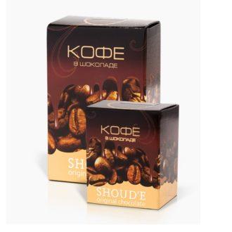 Драже SHOUD'E Кофейные зерна в черном шоколаде, Украина, 70 г