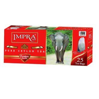 Чай Impra Premium Pure Ceylon Black Tea Red (красная серия), цейлонский, пакетированный, 25х1.8 г, 45 г