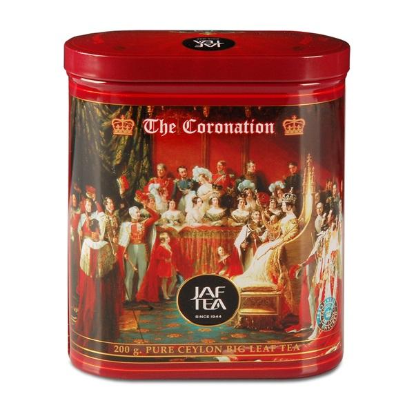 Чай JAF Coronation Коронация, крупнолистовой, цейлонский, 200 г