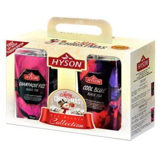 Чай Hyson Champagne Fizz, Cool Blue Брызги шампанского, цейлонский, 2х100 г