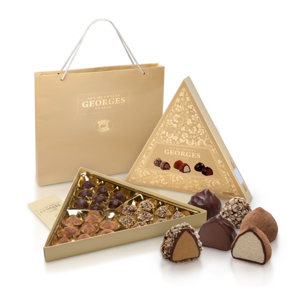 Шоколадные конфеты Georges Classic Жорж Классик, Украина, 300 г