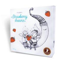 Шоколадные конфеты SHOUD'E Strawberry dreams Клубника в шоколаде, Украина, 100 г