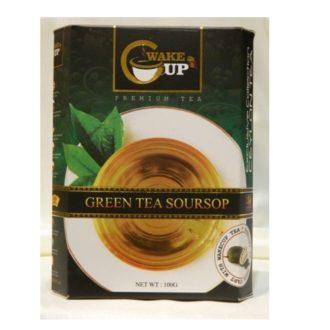 Чай WakeCup SourSop Green Tea Саусеп, цейлонский, 100 г