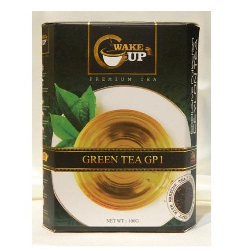 Чай WakeCup GP1 Green Tea Ганпаудер, цейлонский, 100 г