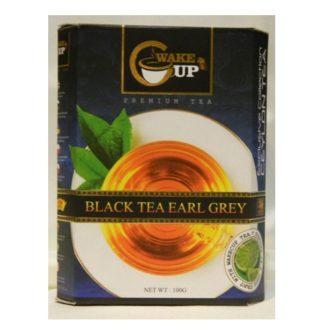 Чай WakeCup Black Tea with Earl Grey с Бергамотом, цейлонский, 100 г