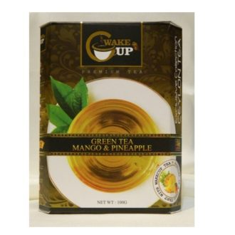Чай WakeCup Mango and Pineapple Green Tea Манго Ананас, цейлонский, 100 г