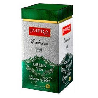 Чай Impra Green Orange Pekoe (Зеленый), цейлонский, 200 г
