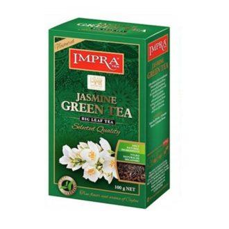 Чай Impra Jasmine Green Tea (Зеленый с жасмином), цейлонский, 100 г
