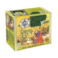 Чай Mlesna Green Зеленый в пакетиках, цейлонский, пакетированный, 50 х 2 г