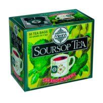 Чай Mlesna Soursop Саусеп в пакетиках, цейлонский, пакетированный, 50 х 2 г