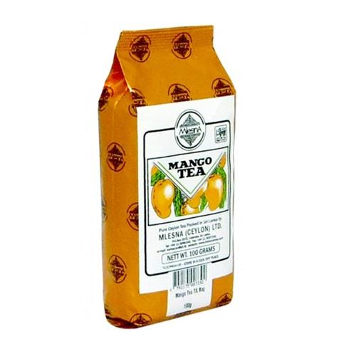 Чай Mlesna Mango Tea Манго, цейлонский, ароматизированный, 100 г