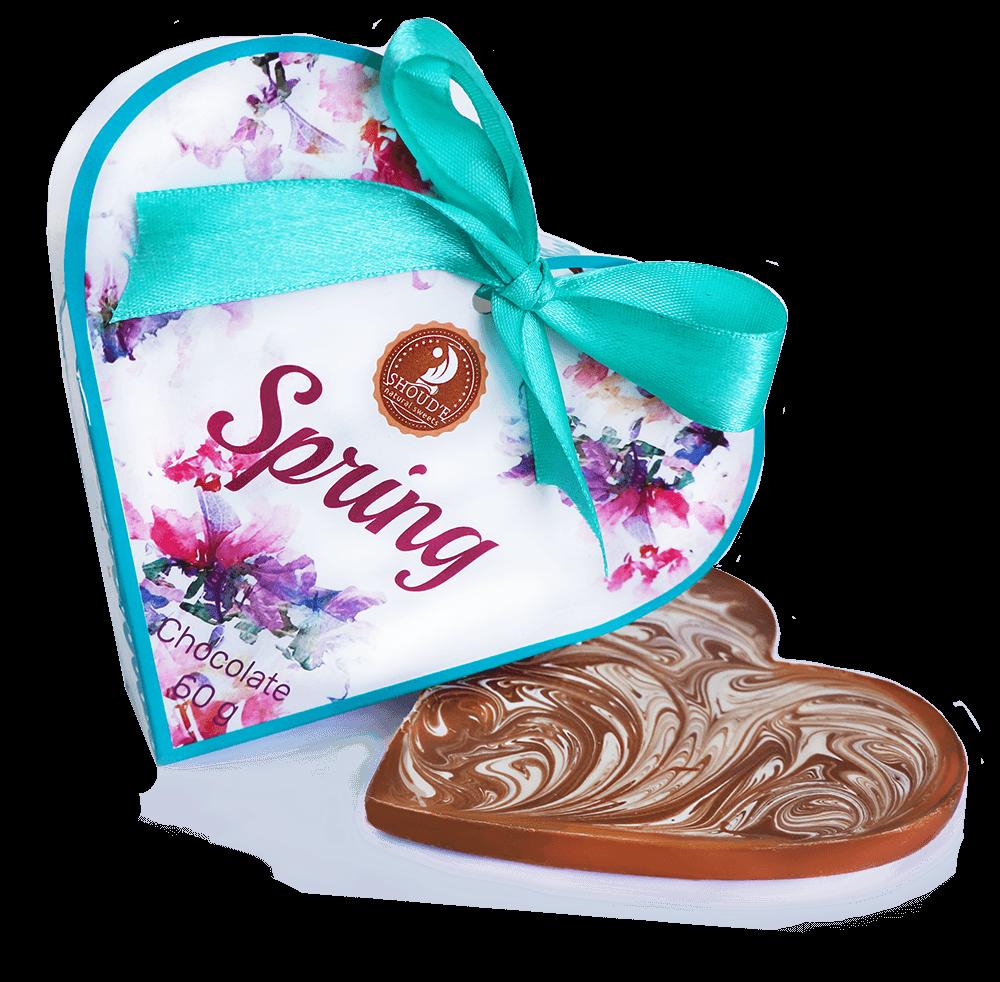 Шоколад SHOUD'E Spring Весна, молочный, Украина, 60 г