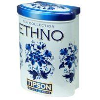 Чай Tipson Blue Flowers коллекция Ethno (Голубые цветы), цейлонский, 100 г