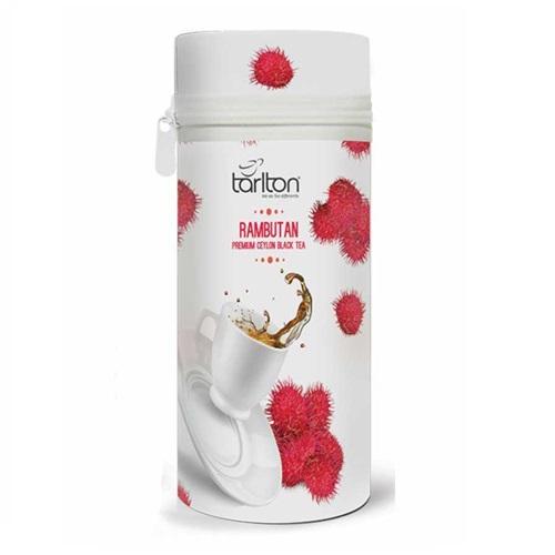 Чай Tarlton Rambutan Premium Black Tea Рамбутан, цейлонский, 75 г