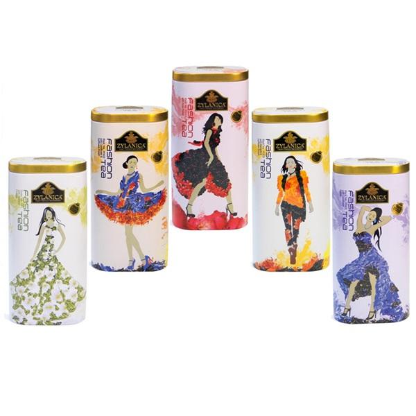 Чай Zylanica Коллекция Fashion, цейлонский, 5x100 г, 500 г