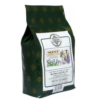 Чай Mlesna Mint Green Tea Мята, цейлонский, 500 г