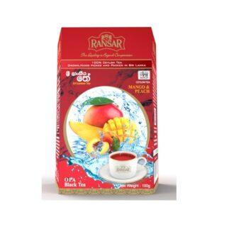 Чай Ransar Mango Peach OPA Black (Манго Персик), цейлонский, 100 г