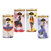 Чай Zylanica Коллекция Fashion, цейлонский, 4x100 г, 400 г