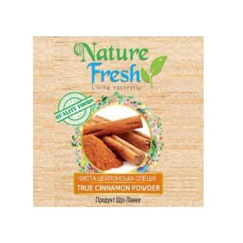 Корица молотая Nature Fresh, Цейлон, органический продукт