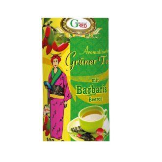Чай Gred Barbaris Green Tea (Барбарис), цейлонский, 100 г