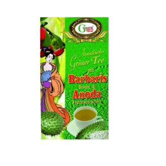 Чай Gred Barbaris SourSop Green Tea (Барбарис Анода), цейлонский, 100 г